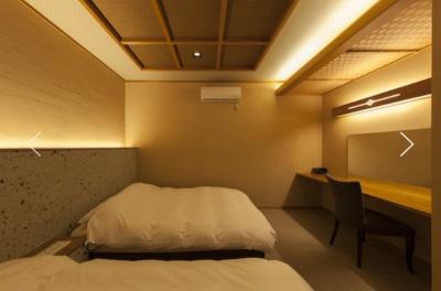 陣屋若紫の寝室