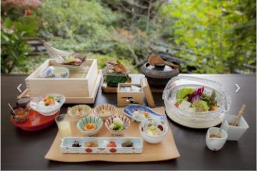 陣屋の夢浮橋懐石プランの朝食