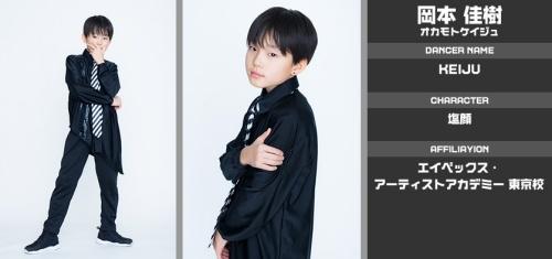 loud日本人のケイジュのダンス歴やスクールはどこ?