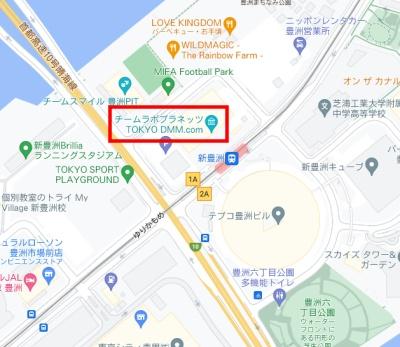 チームラボTOKYO DMMの最寄り駐車場と料金が安い順に一覧